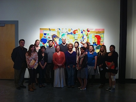 Amy Grimm's Irvine Valley College Curatorial Practice  class