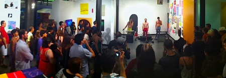three performance panarama