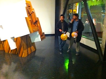 guys with lanterns