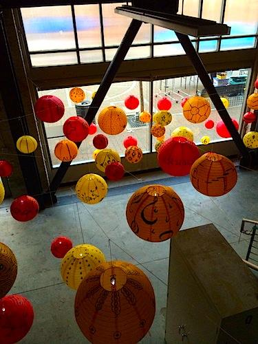 lanterns above day