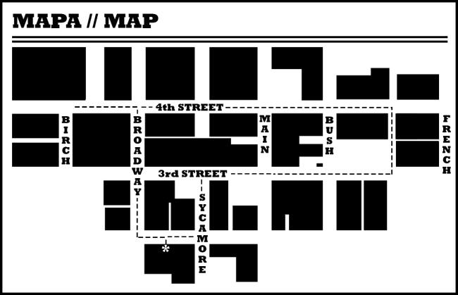 mapa map of dtsa
